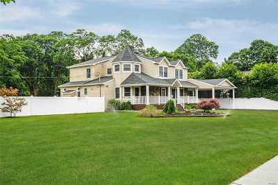 Patchogue NY Single Family Home For Sale: $627,000