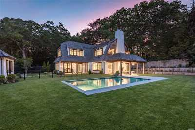 Southampton Single Family Home For Sale: 173 Old Sag Harbor Rd