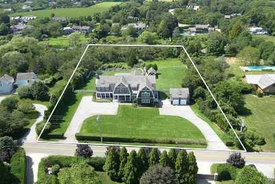 Bridgehampton Single Family Home For Sale: 122 Pauls