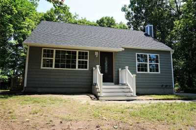 Shirley Single Family Home For Sale: 36 Malba Dr