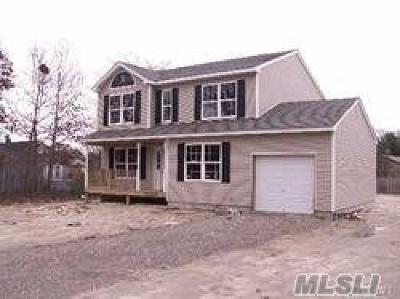 Farmingville Single Family Home For Sale: Lot 48 Morris Ave