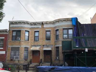 Brooklyn Multi Family Home For Sale: 828 54 St