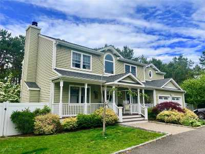 Manorville Single Family Home For Sale: 66 Halsey Manor Rd