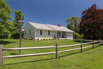 E. Quogue Single Family Home For Sale: 4 Widgeon Ln