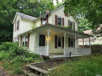 Woodbury Single Family Home For Sale: 347 Woodbury Rd