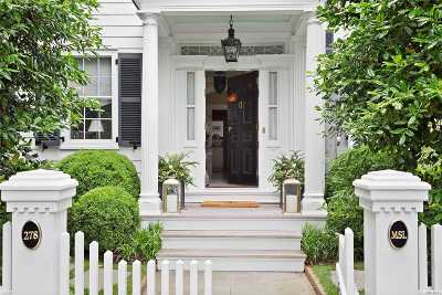Sag Harbor Single Family Home For Sale: 278 Main St