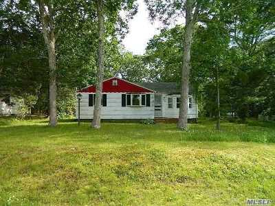 Hampton Bays Single Family Home For Sale: 94 E Bay Ave