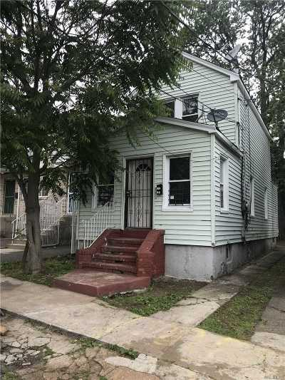 Jamaica Single Family Home For Sale: 142-51 122nd Ave