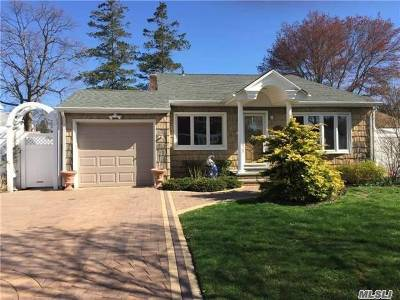Massapequa Single Family Home For Sale: 207 N Wisconsin Ave