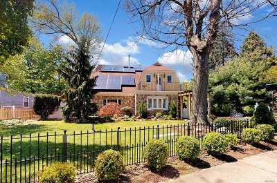 Amityville Single Family Home For Sale: 32 Bayview Ave