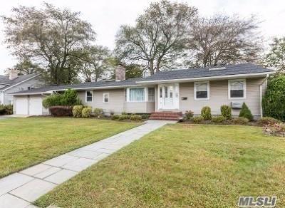 Massapequa Single Family Home For Sale: 107 Brewster Rd