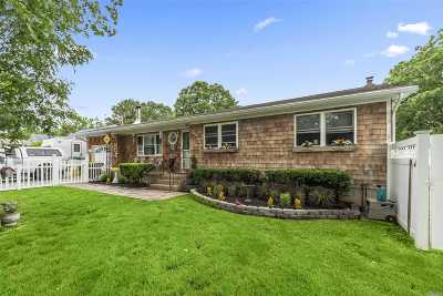 Nassau County, Suffolk County Single Family Home For Sale: 61 Forestall Dr
