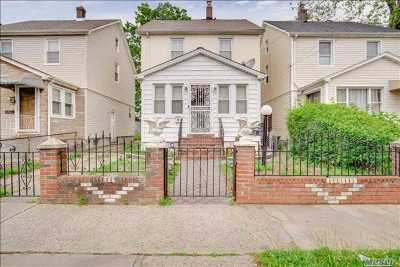 Jamaica Single Family Home For Sale: 143-15 119th Ave
