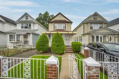 Queens Village, Briarwood, Bayside, Hillcrest, Jamaica Single Family Home For Sale: 92-40 215 Street