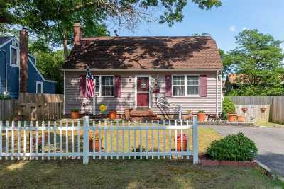 Patchogue Single Family Home For Sale: 8 Bennett Ave