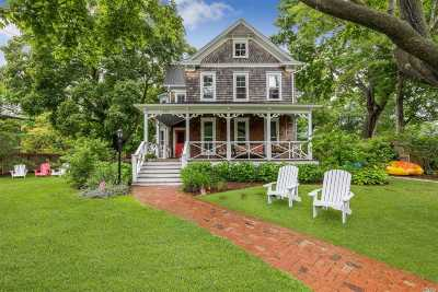 Greenport Single Family Home For Sale: 133 6th St