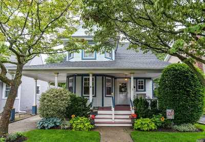 Rockville Centre Single Family Home For Sale: 24 Vernon Ave