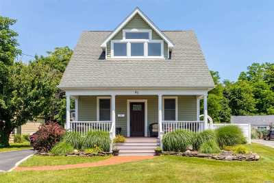 W. Sayville Single Family Home For Sale: 49 Atlantic Ave