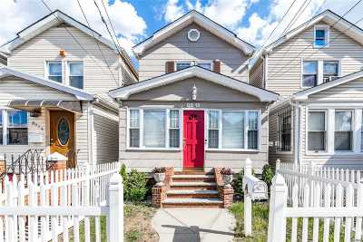 Woodhaven Single Family Home For Sale: 88-12 91st Ave