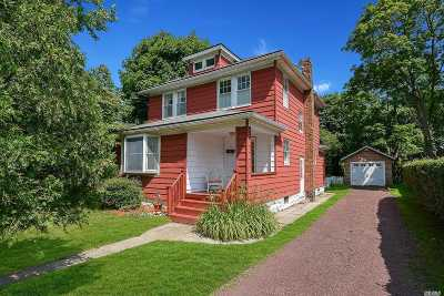 Patchogue Single Family Home For Sale: 201 Oak St