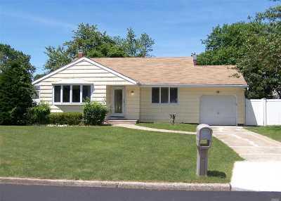 Selden Single Family Home For Sale: 54 Newton Ave