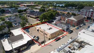 Patchogue Commercial For Sale: 24 Railroad Ave
