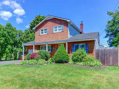 Sayville Single Family Home For Sale: 373 Wyandanch Rd