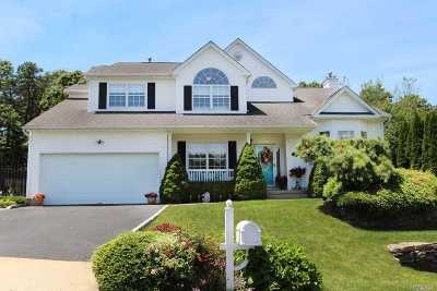 Manorville Single Family Home For Sale: 60 Beechwood Dr