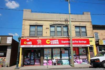 Valley Stream Commercial For Sale: 214 Rockaway Ave