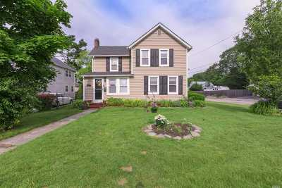 Patchogue Single Family Home For Sale: 118 Jennings Ave