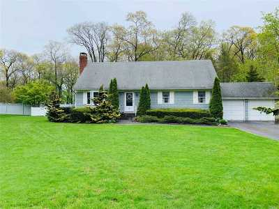 Aquebogue Single Family Home For Sale: 40 Colonial Dr
