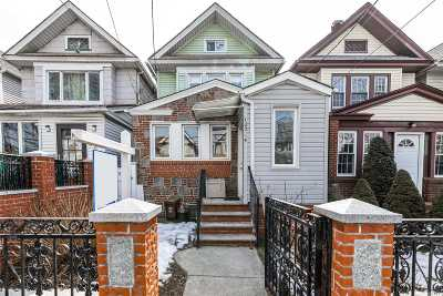 Kew Gardens Single Family Home For Sale: 123-14 85th Ave