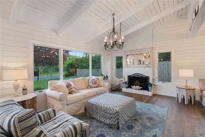 Montauk Single Family Home For Sale: 24 Cranberry Rd
