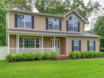 Shirley Single Family Home For Sale: 1371 William Floyd