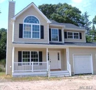 Miller Place Single Family Home For Sale: Lot 7.1 Beverly Dr