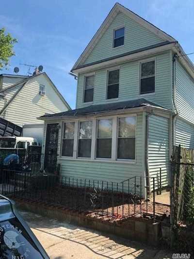 Jamaica Single Family Home For Sale: 111-22 158th St