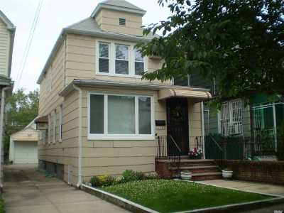 Rego Park Single Family Home For Sale: 63-09 Wetherole St