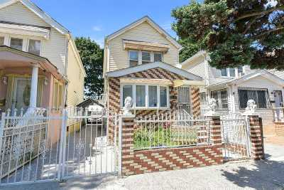 Queens Village Single Family Home For Sale: 211-37 99th Ave