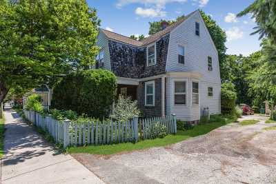 Greenport Single Family Home For Sale: 417 Front St