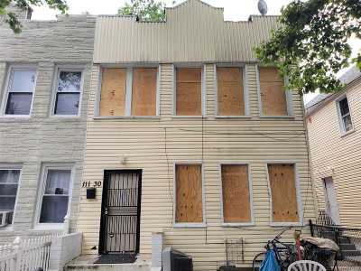 Queens County Single Family Home For Sale: 111-30 Inwood St
