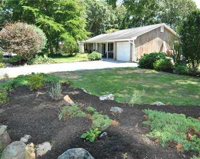 Center Moriches Single Family Home For Sale: 10 Twin Pine Ln