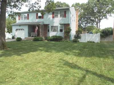 Mastic Single Family Home For Sale: 55 Brandywine Dr