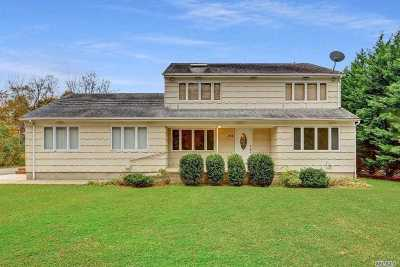 Moriches Single Family Home For Sale: 256 Montauk Hwy