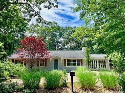 Sag Harbor Single Family Home For Sale: 71 Walker Ave
