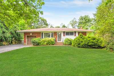 Commack Single Family Home For Sale: 4 Dewey Rd