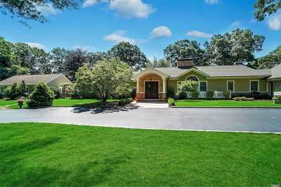 Lloyd Harbor Single Family Home For Sale: 121 Jennings Rd