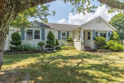 Blue Point Single Family Home For Sale: 36 E Edwards Ln