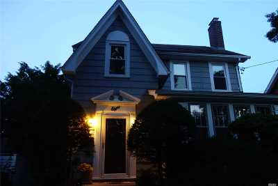 Lynbrook Single Family Home For Sale: 8 So Williams St