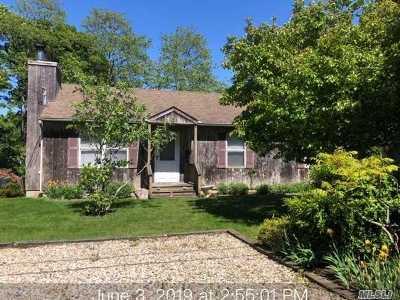 Montauk Single Family Home For Sale: 33 Gannet Dr