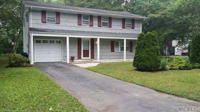 Shirley Single Family Home For Sale: 401 Boxwood Dr